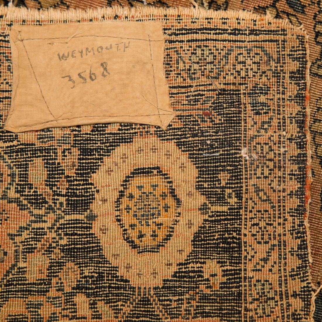 Antique Feraghan Sarouk rug, approx. 4 x 6.7 - 3