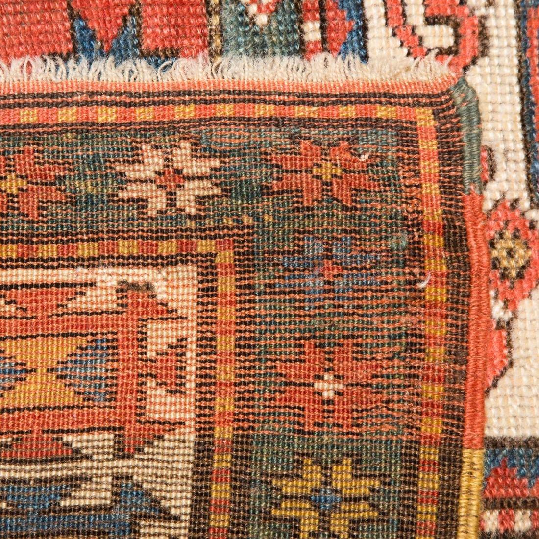 Antique Kazak rug, approx. 3.9 x 5.4 - 3