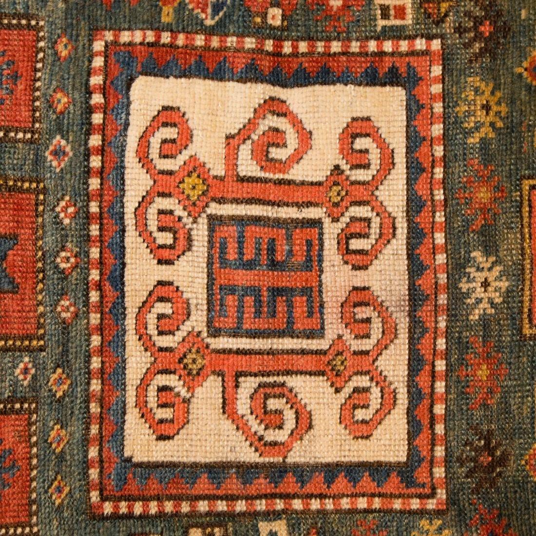 Antique Kazak rug, approx. 3.9 x 5.4 - 4
