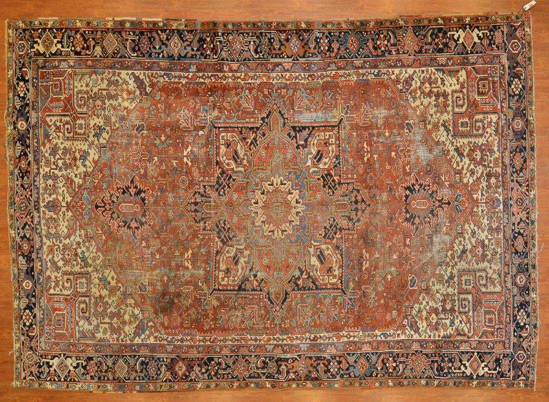 Persian Herez carpet, approx. 8.6 x 12.3