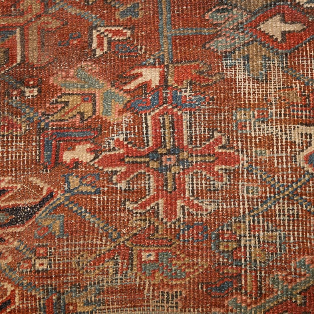 Persian Herez carpet, approx. 8.6 x 12.3 - 4