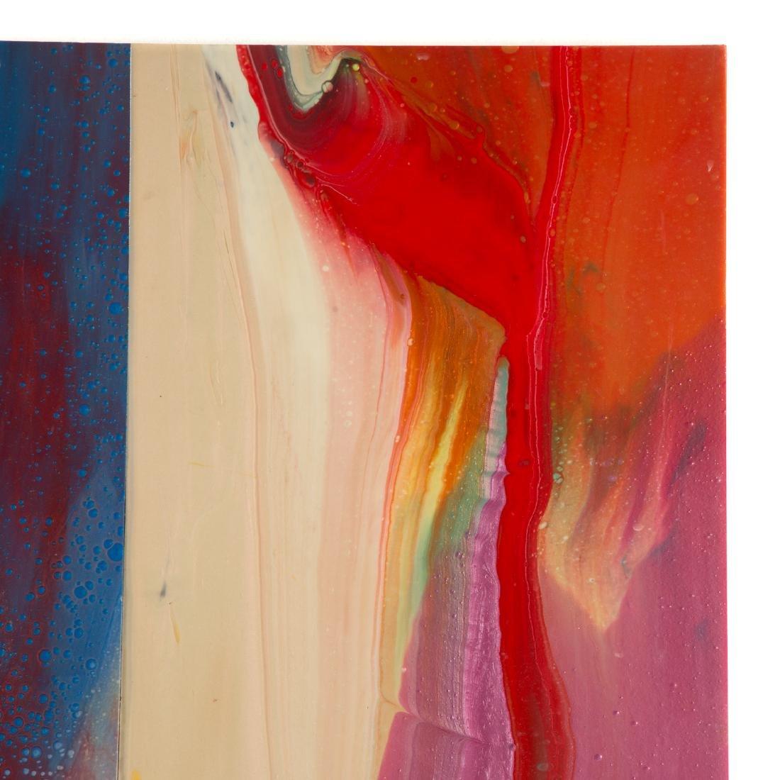 Sam Gilliam. Untitled, mixed media on panel - 2