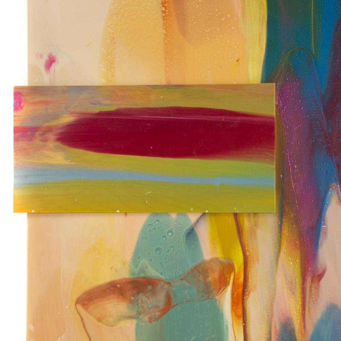 Sam Gilliam. Untitled, mixed media on panel - 3