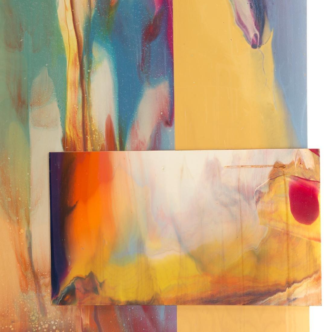 Sam Gilliam. Untitled, mixed media on panel - 4