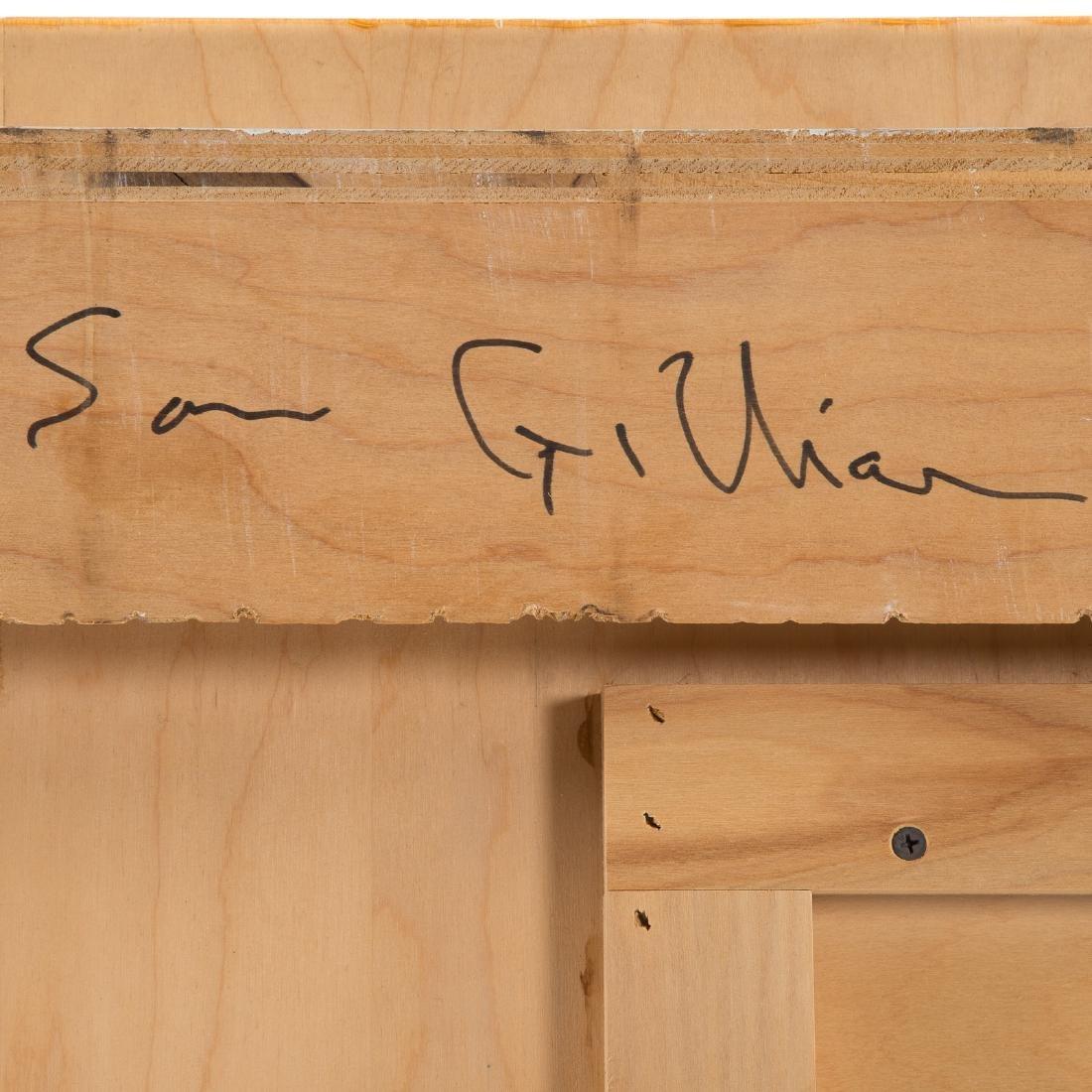 Sam Gilliam. Untitled, mixed media on panel - 7