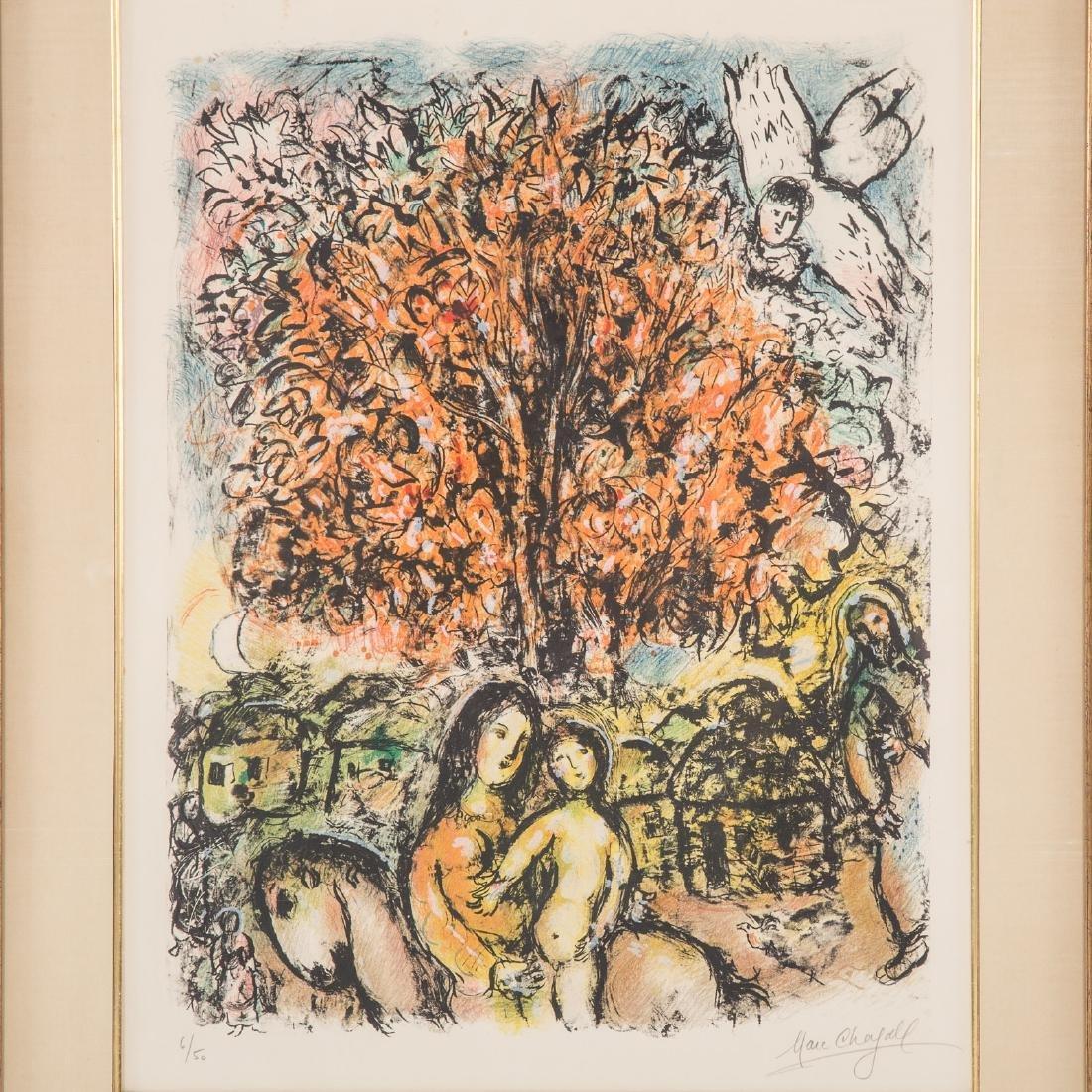 """Marc Chagall. """"La Sainte Famille,"""" lithograph - 2"""