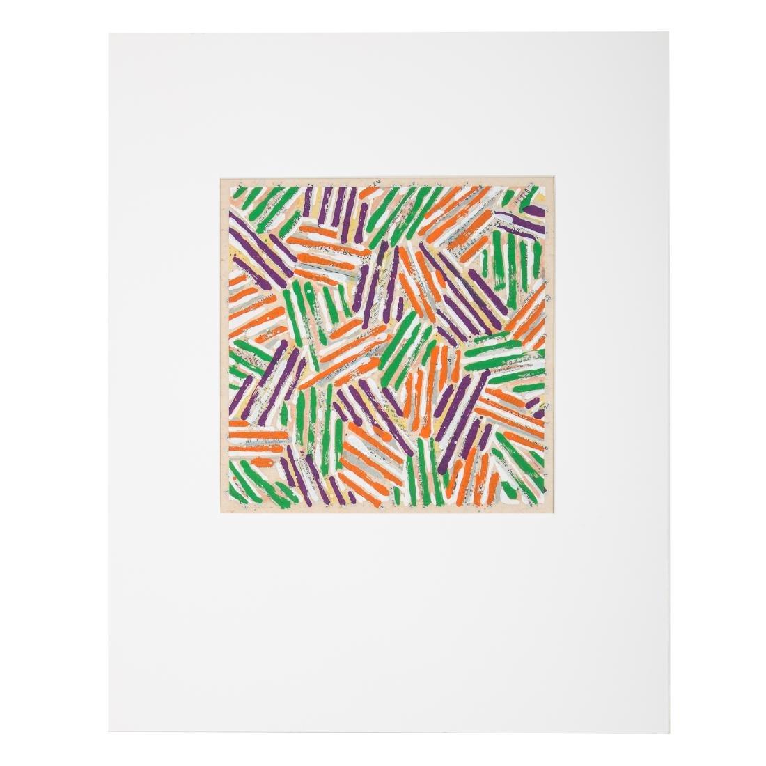 Jasper Johns. Untitled (ULAE 513), serigraph - 2