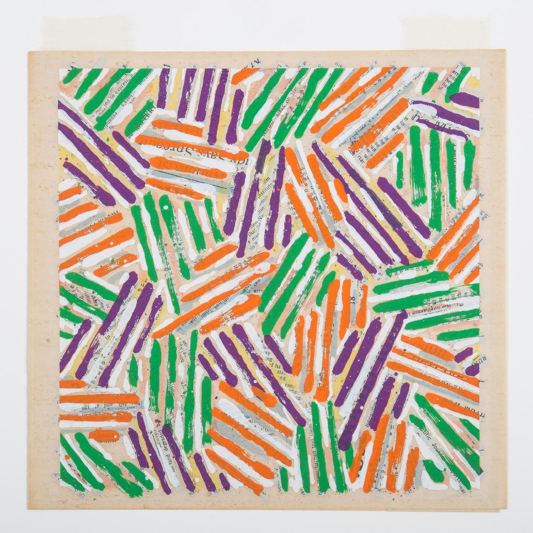 Jasper Johns. Untitled (ULAE 513), serigraph - 3