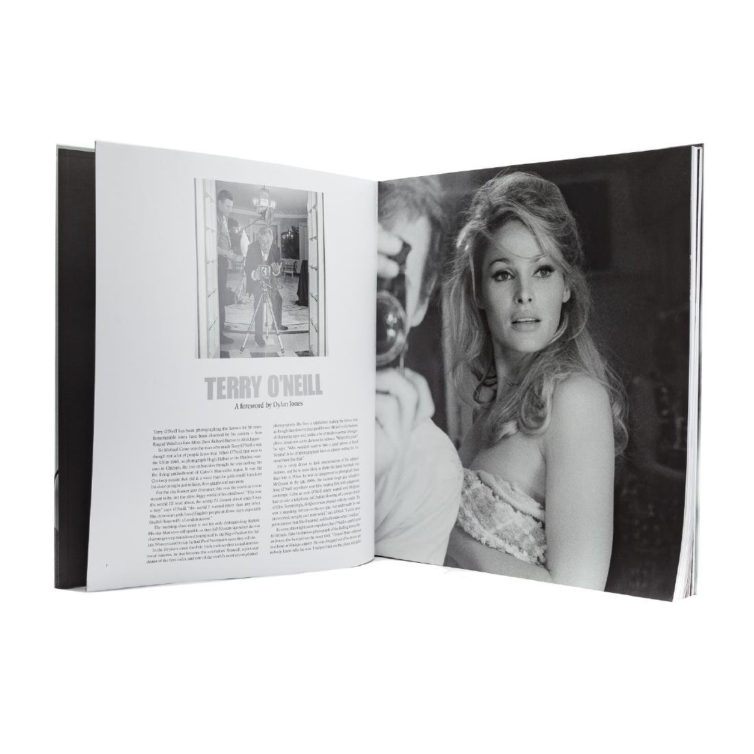 "Terry O'Neill, ""The Opus,"" book with c-type print - 3"