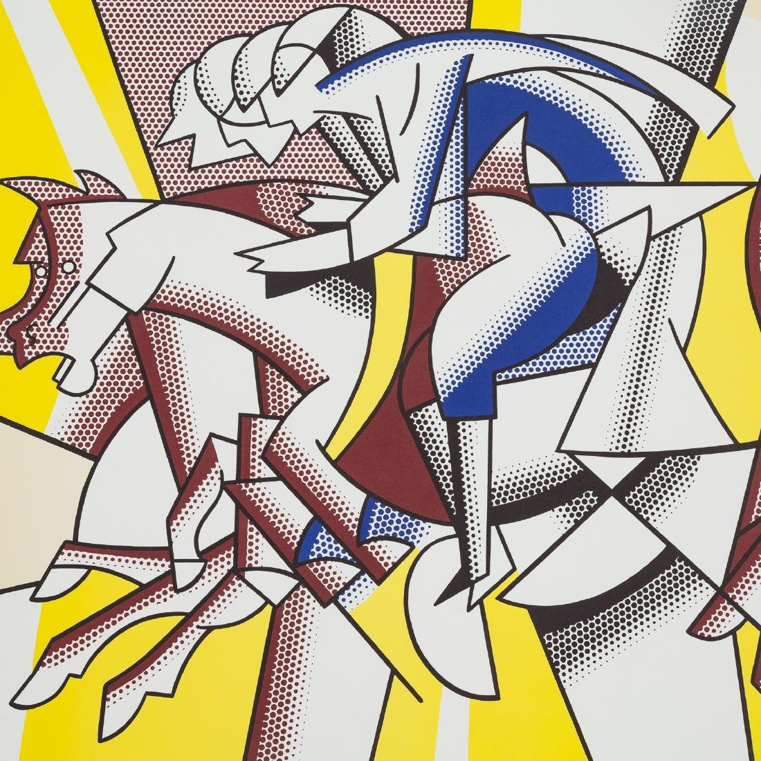 "Roy Lichtenstein. ""Los Angeles..."" offset litho - 2"