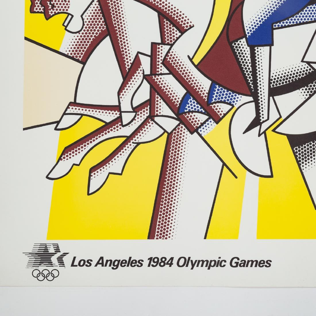 "Roy Lichtenstein. ""Los Angeles..."" offset litho - 3"