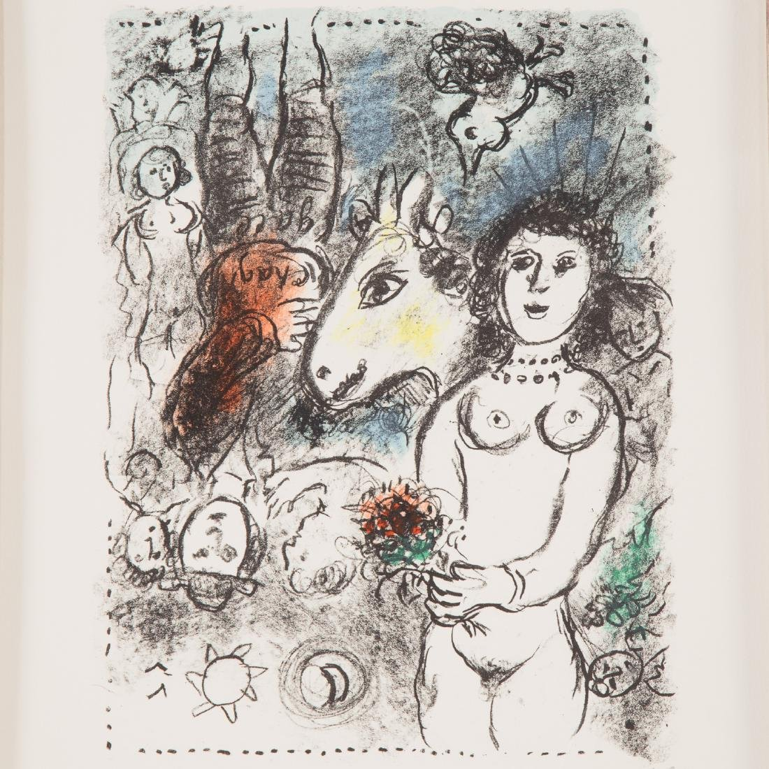 """Marc Chagall. """"Nude with Bouquet"""", lithograph - 2"""