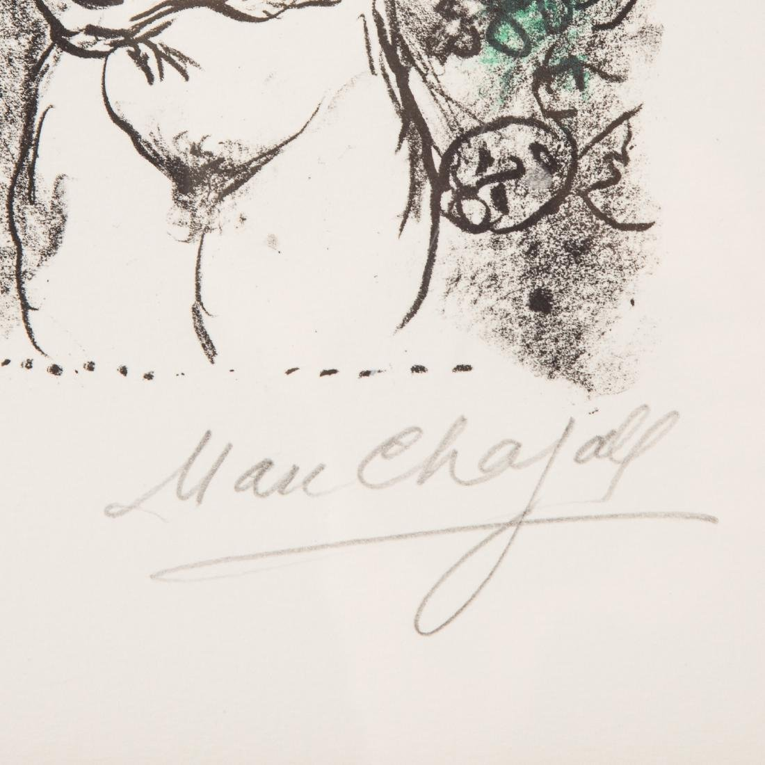 """Marc Chagall. """"Nude with Bouquet"""", lithograph - 3"""