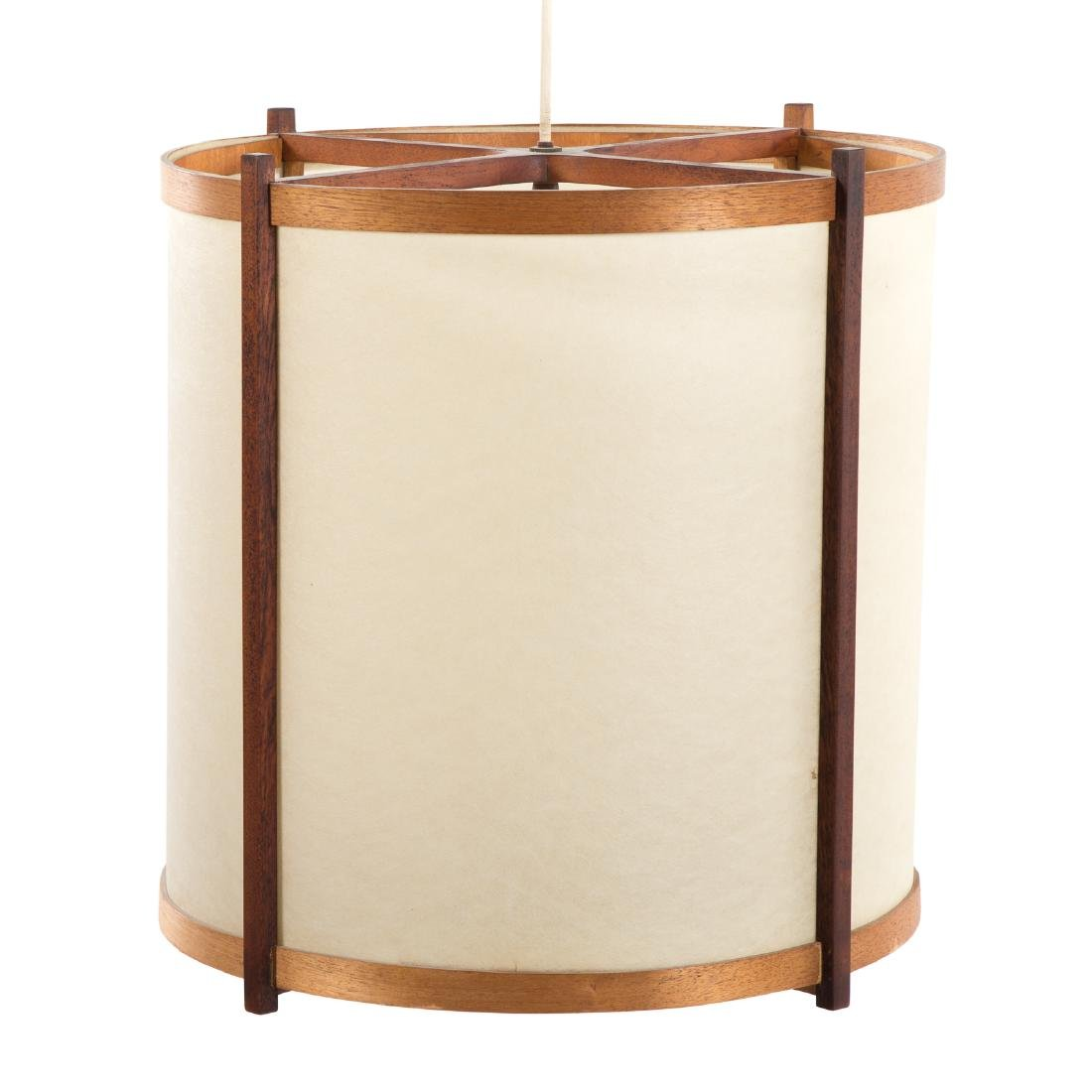 George Nakashima Custom Hanging Lamp - 2