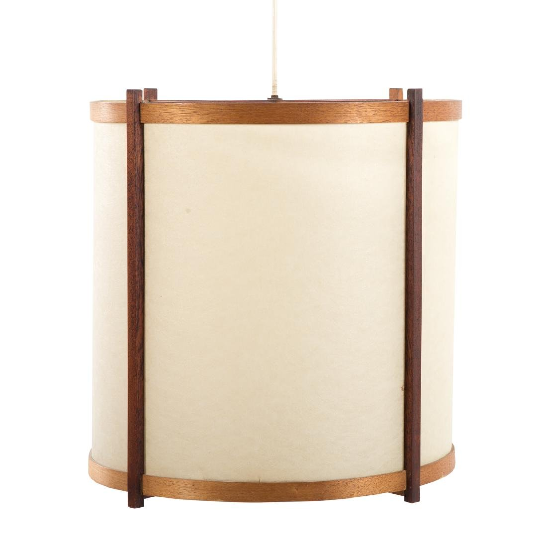 George Nakashima Custom Hanging Lamp - 3