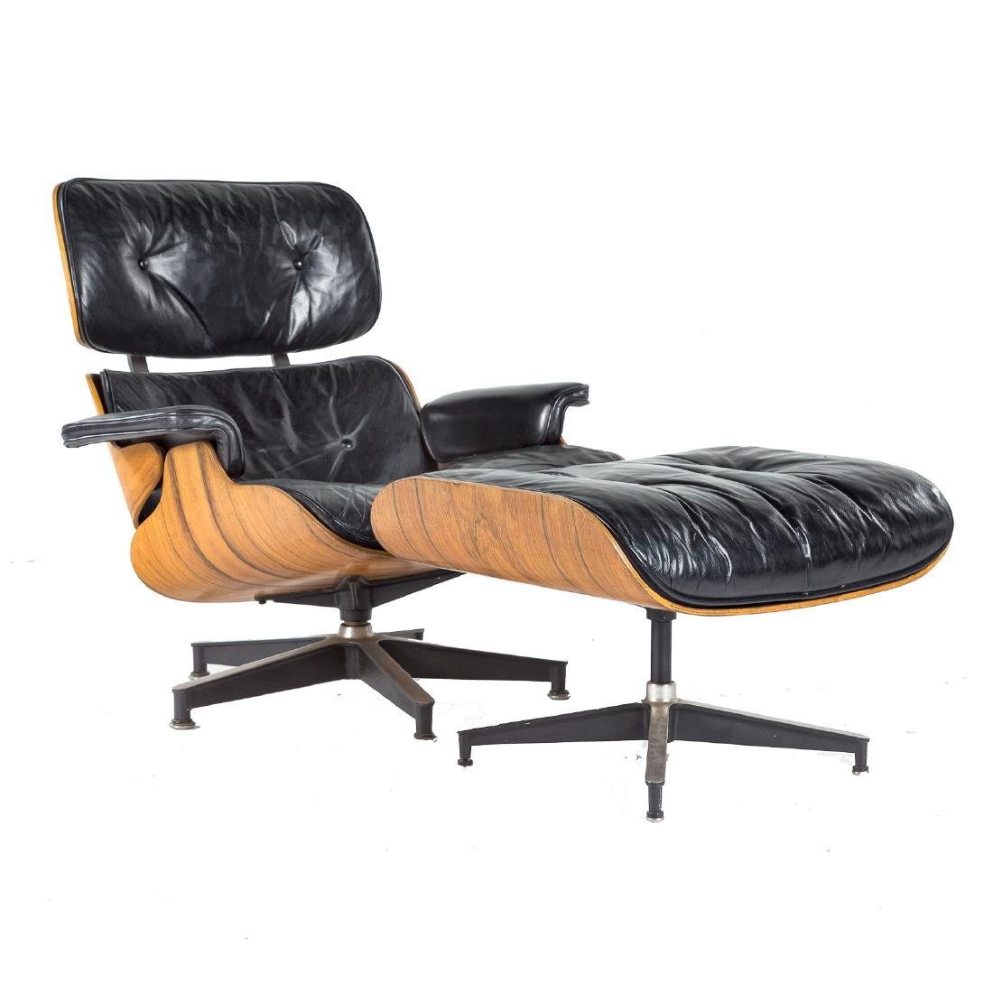 Eames for Herman Miller Lounge Chair and Ottoman
