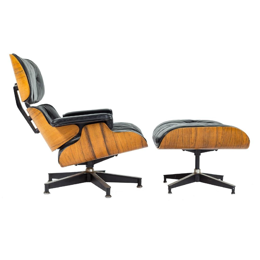 Eames for Herman Miller Lounge Chair and Ottoman - 2