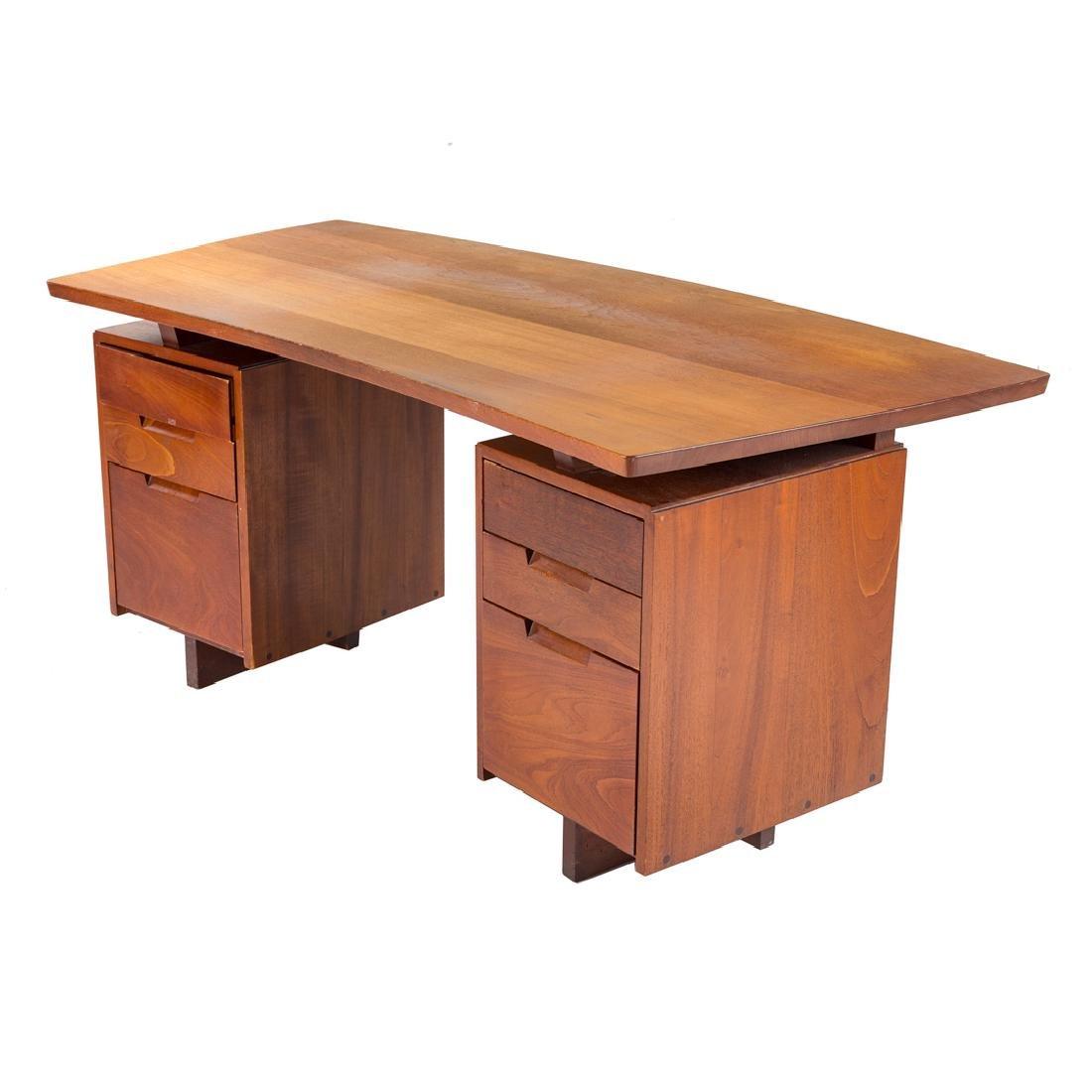 George Nakashima Double Pedestal Desk - 3