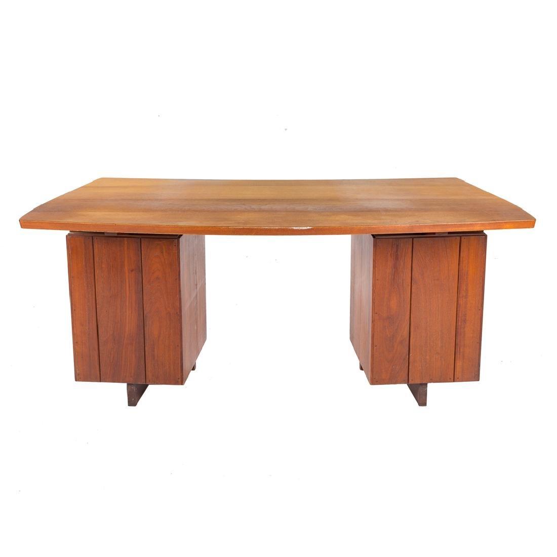 George Nakashima Double Pedestal Desk - 4