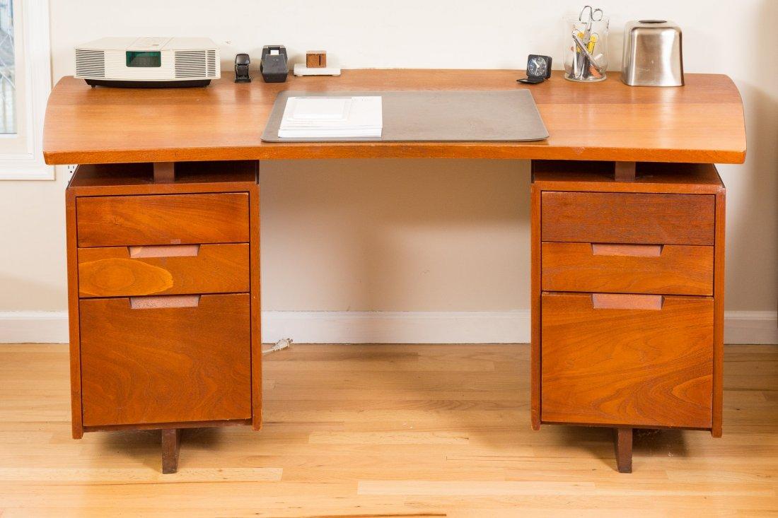 George Nakashima Double Pedestal Desk - 8