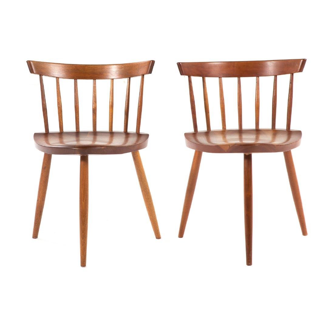 Two George Nakashima Mira Chairs
