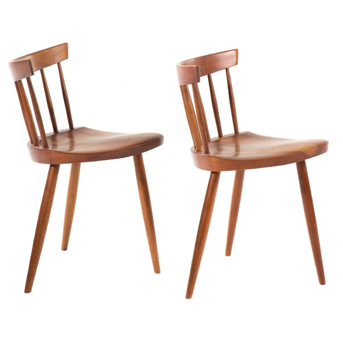 Two George Nakashima Mira Chairs - 2