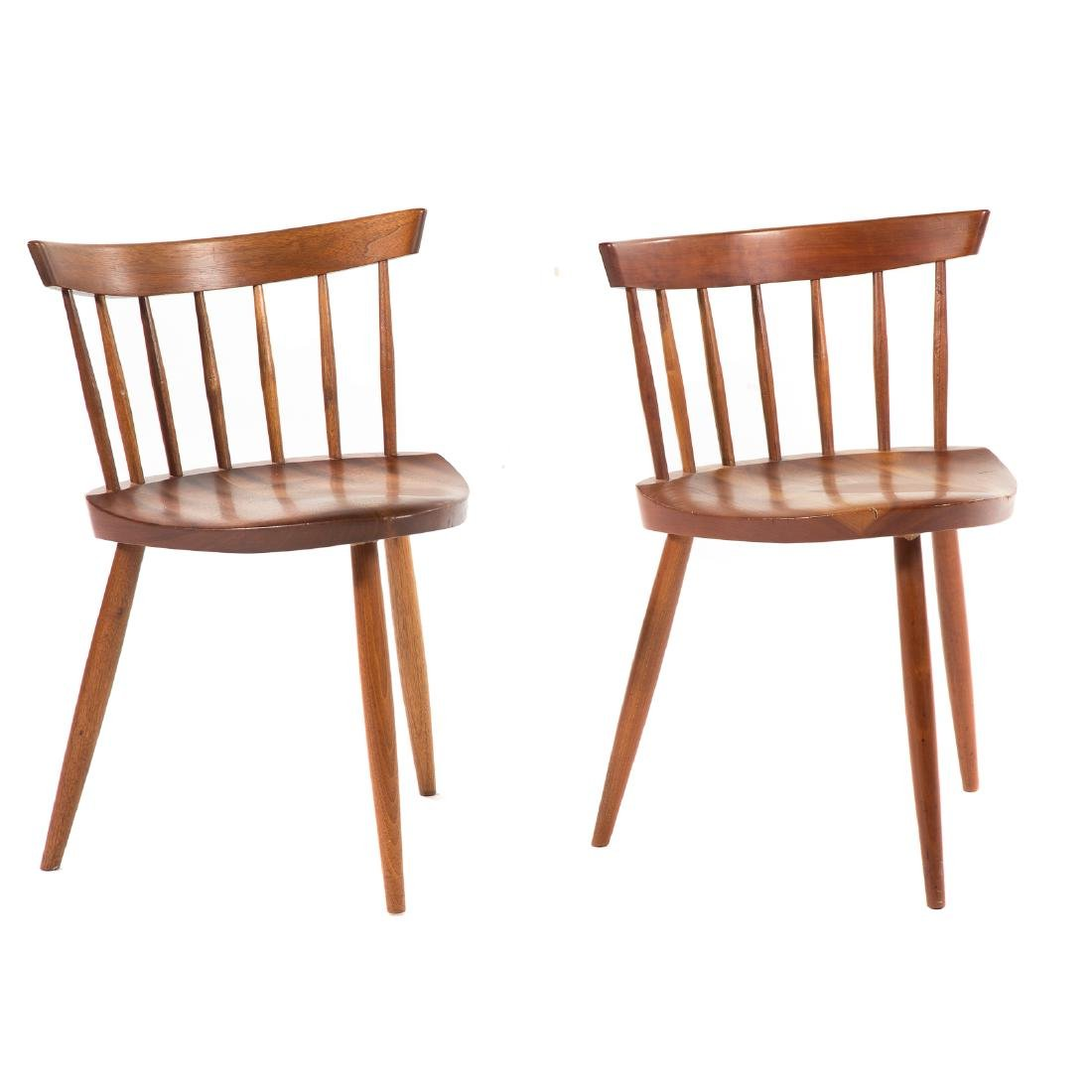 Two George Nakashima Mira Chairs - 4