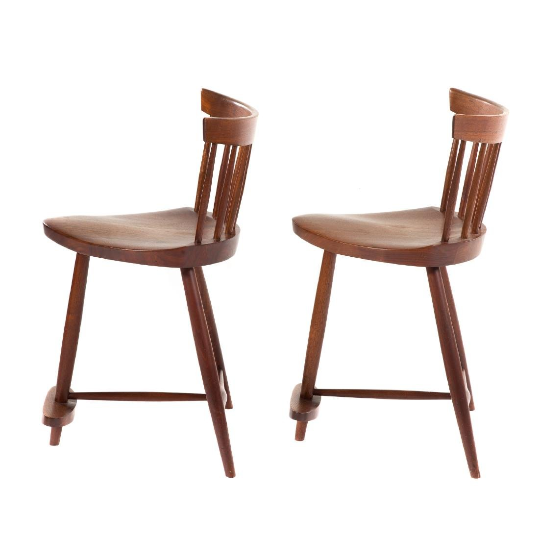 Pair of George Nakashima Mira Chairs - 2