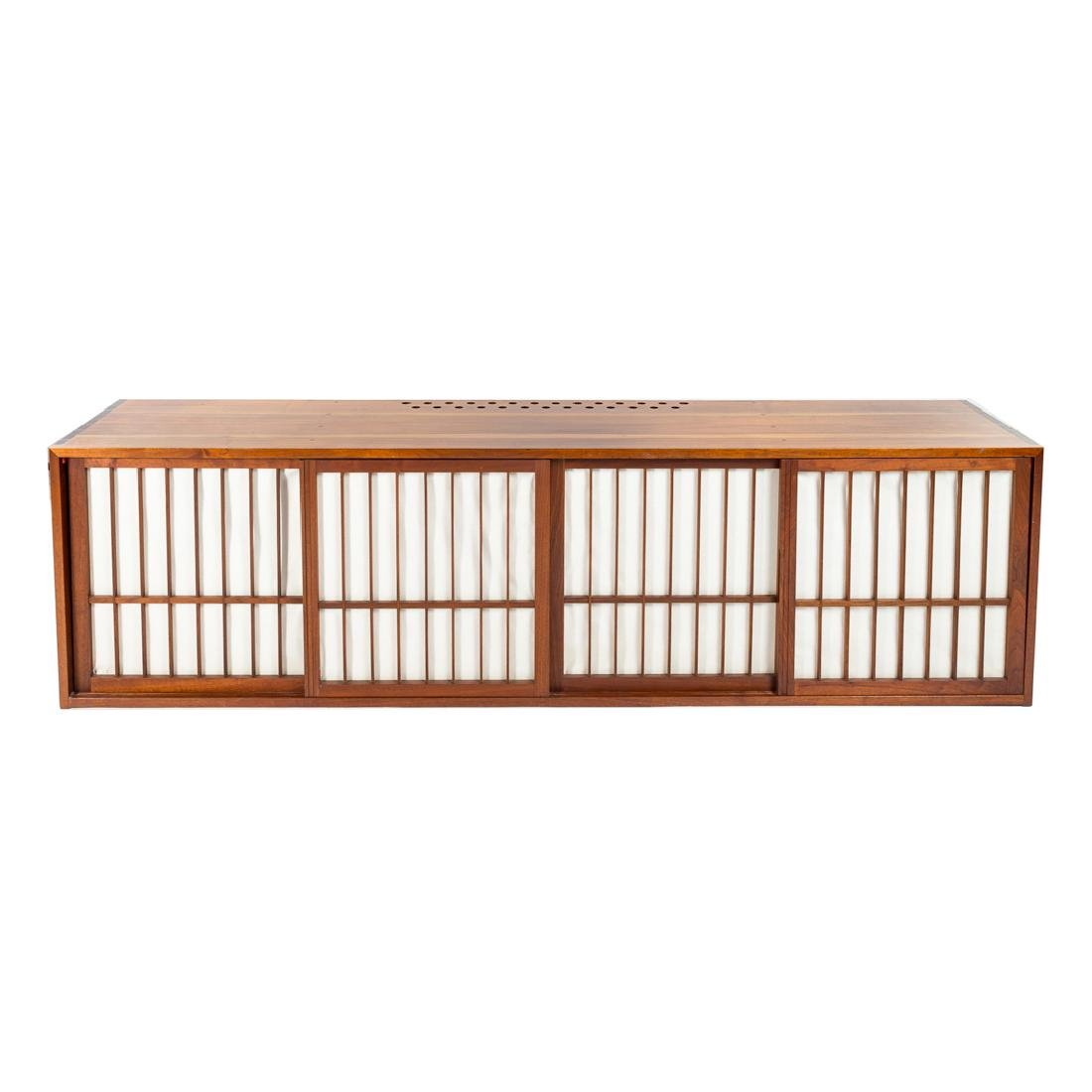 George Nakashima Custom Four-Door Cabinet