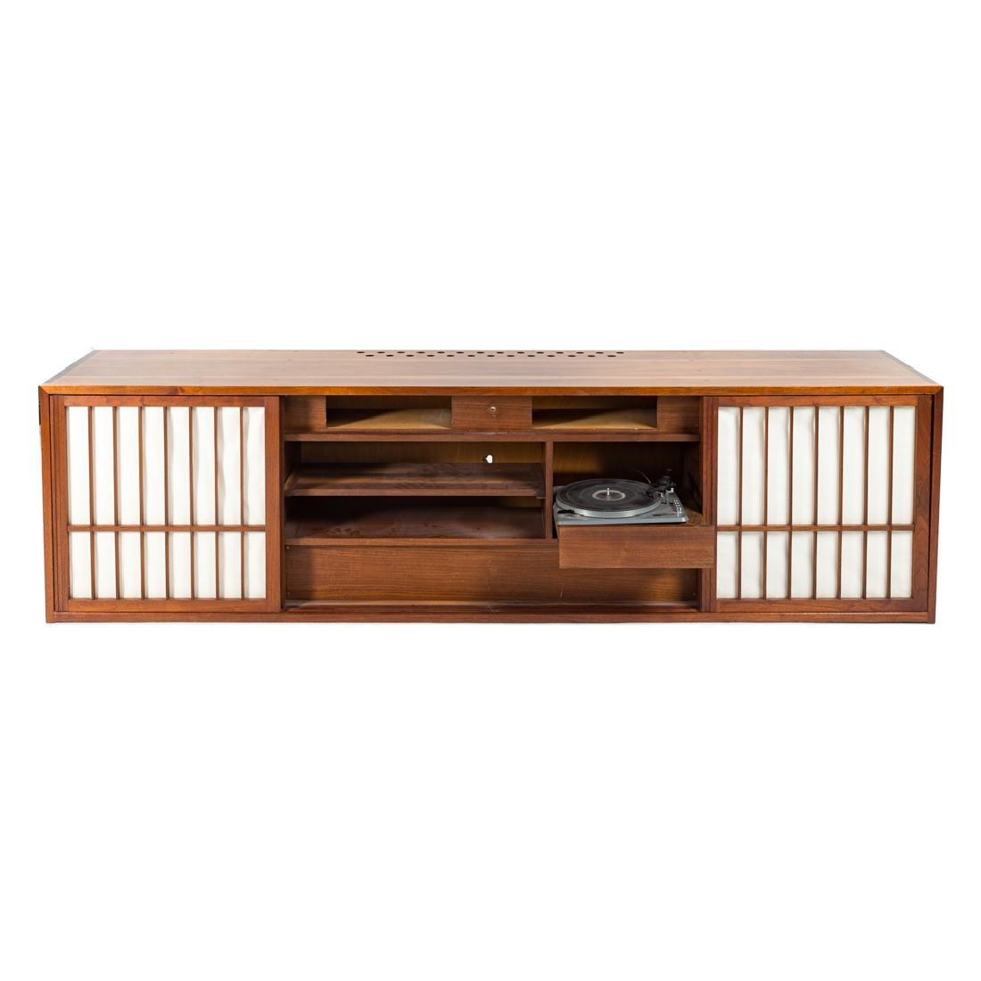 George Nakashima Custom Four-Door Cabinet - 2