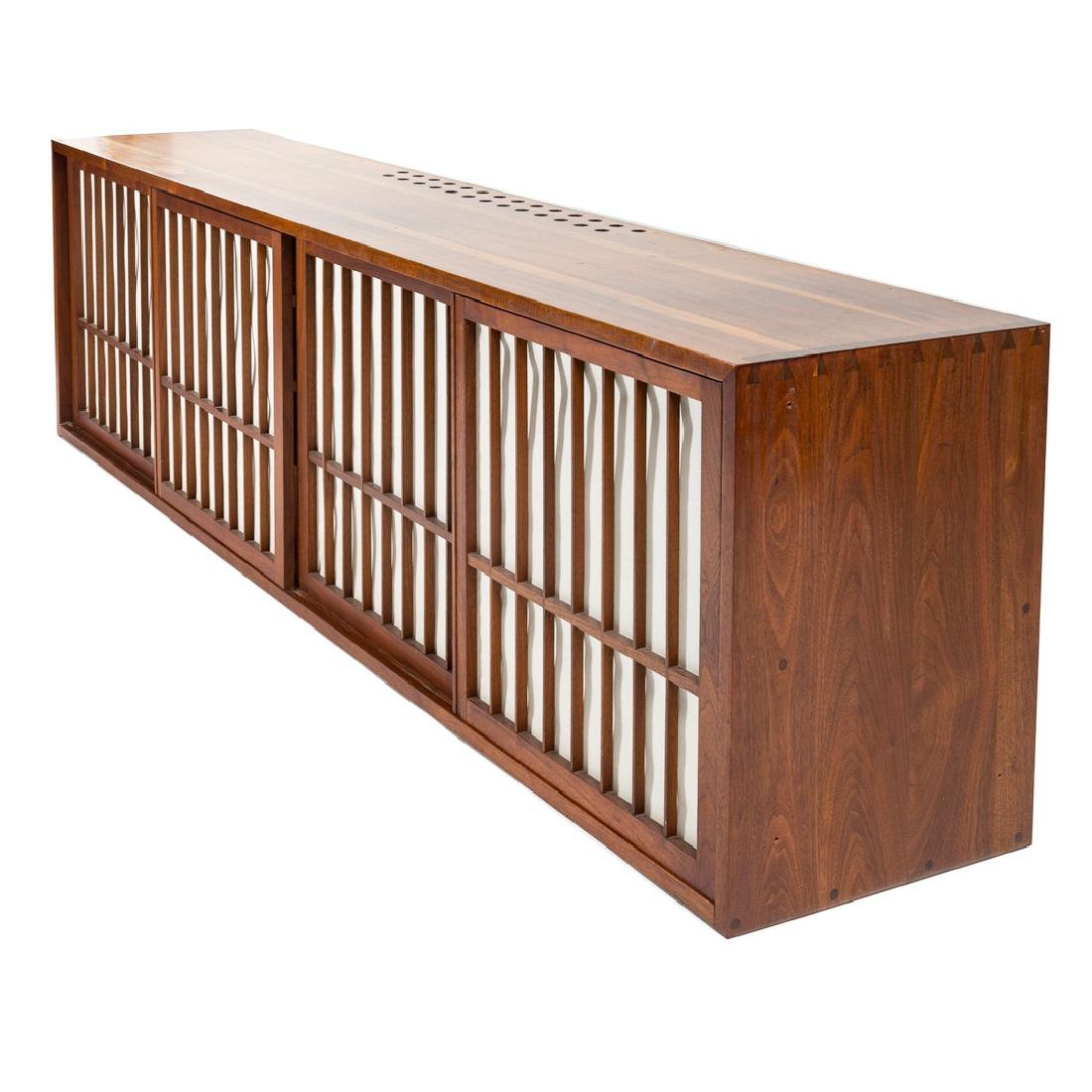 George Nakashima Custom Four-Door Cabinet - 3