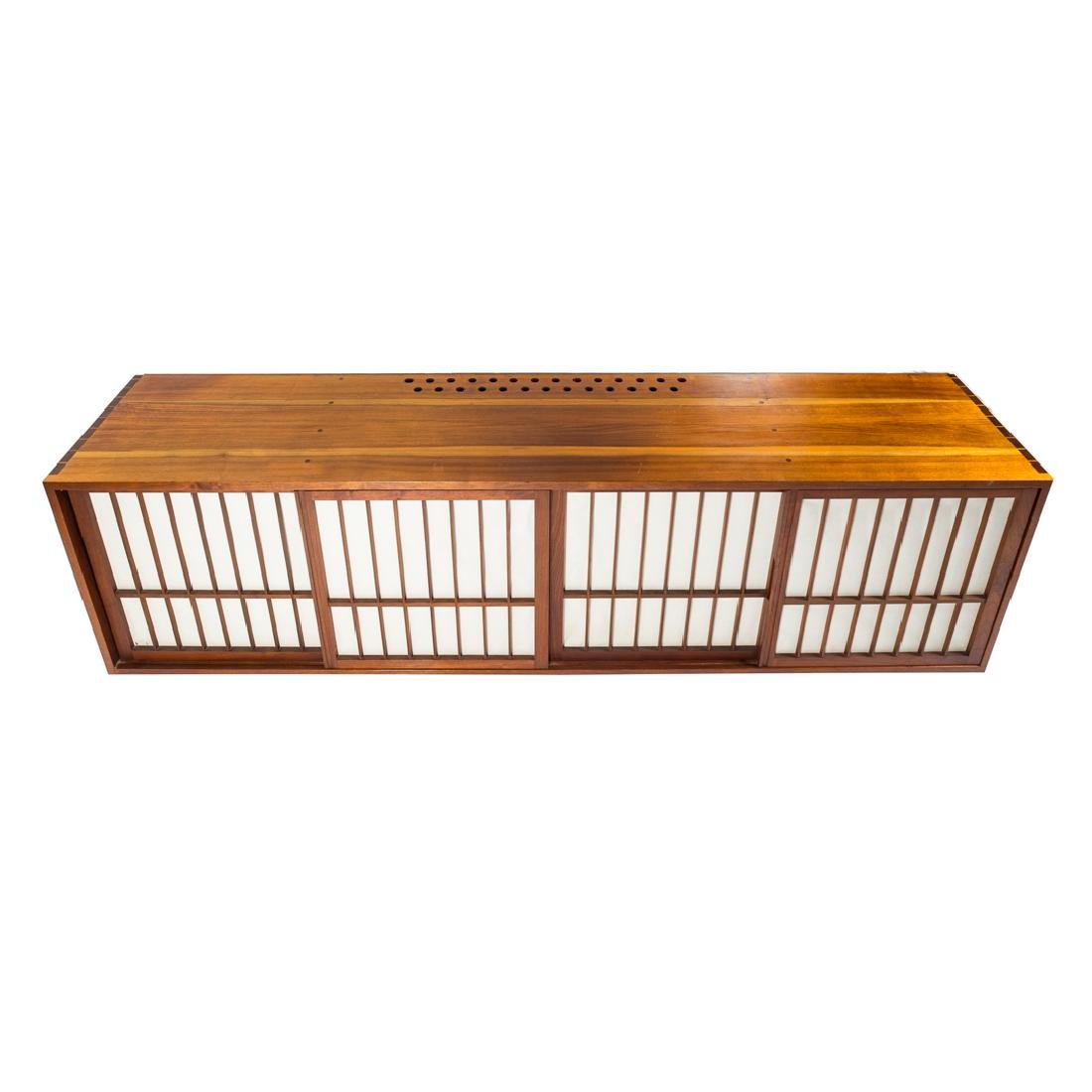 George Nakashima Custom Four-Door Cabinet - 4