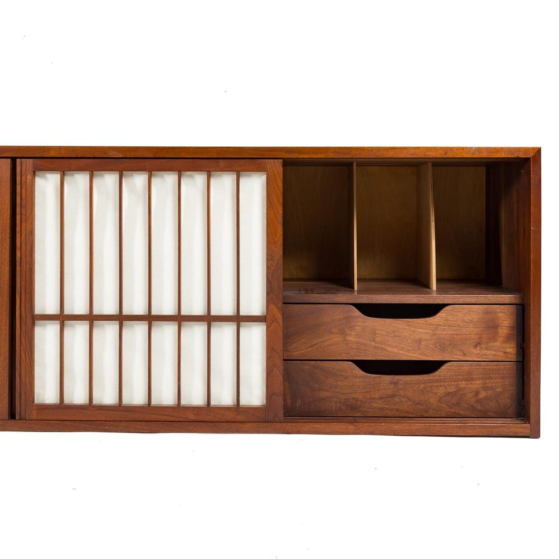 George Nakashima Custom Four-Door Cabinet - 5