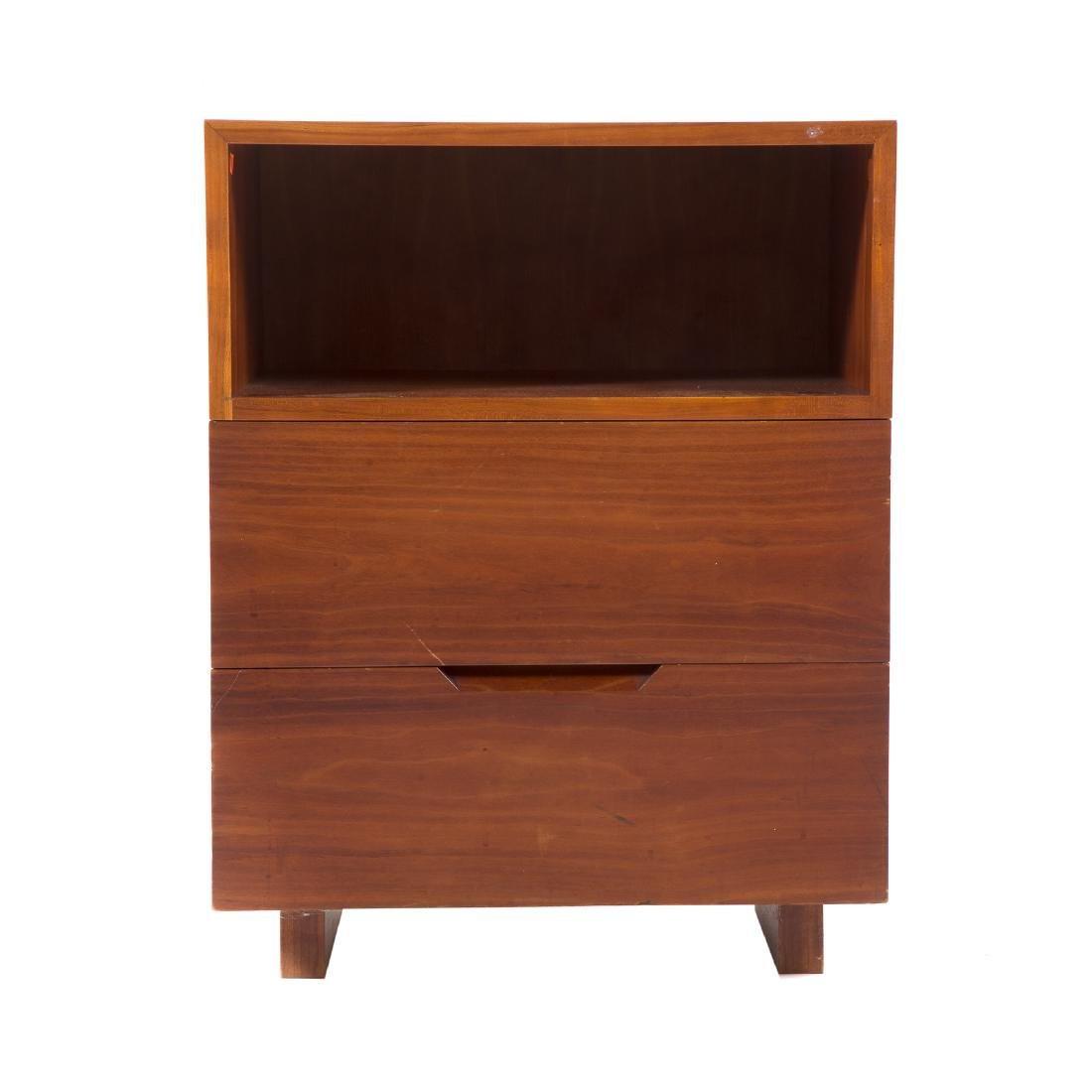 Attributed to George Nakashima. Custom Side Table
