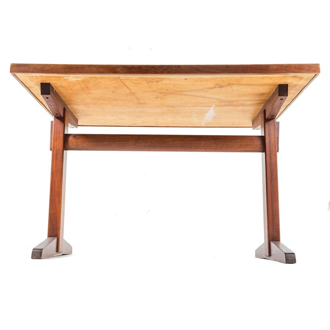 George Nakashima Custom Trestle Table Base - 5