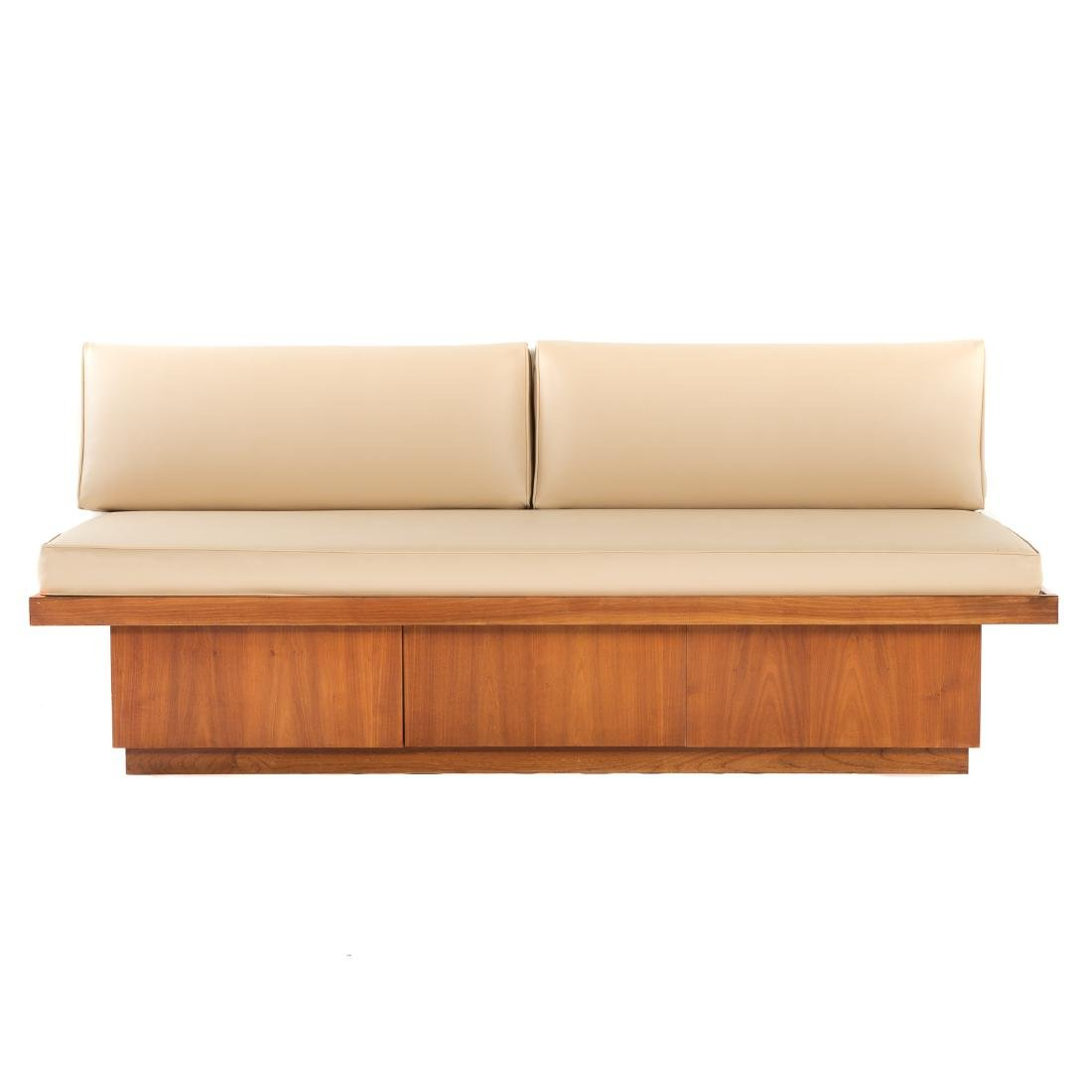 Attributed to George Nakashima.  Custom Daybed