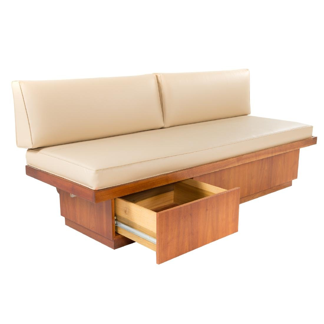 Attributed to George Nakashima.  Custom Daybed - 3
