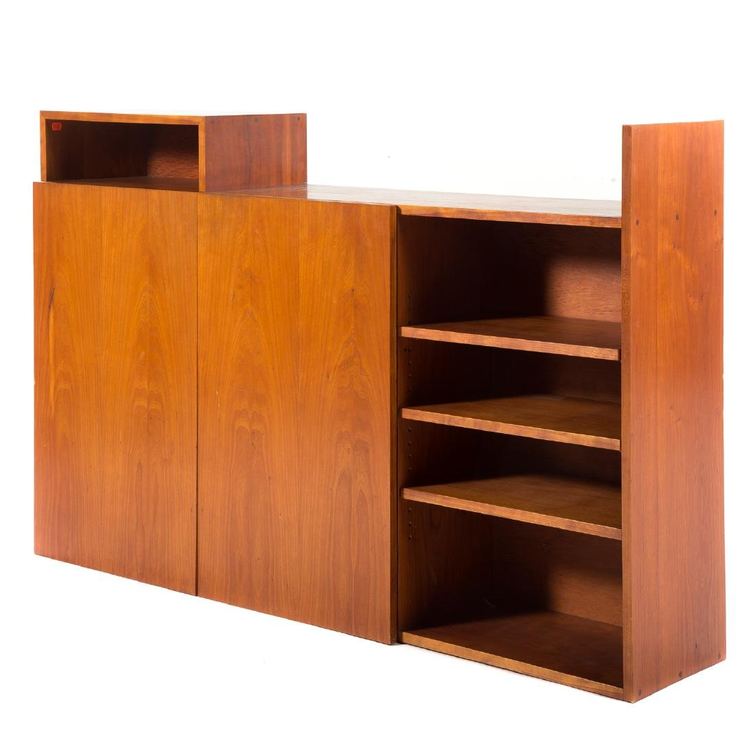 Attributed to George Nakashima.  Custom Wall Cabinet - 2