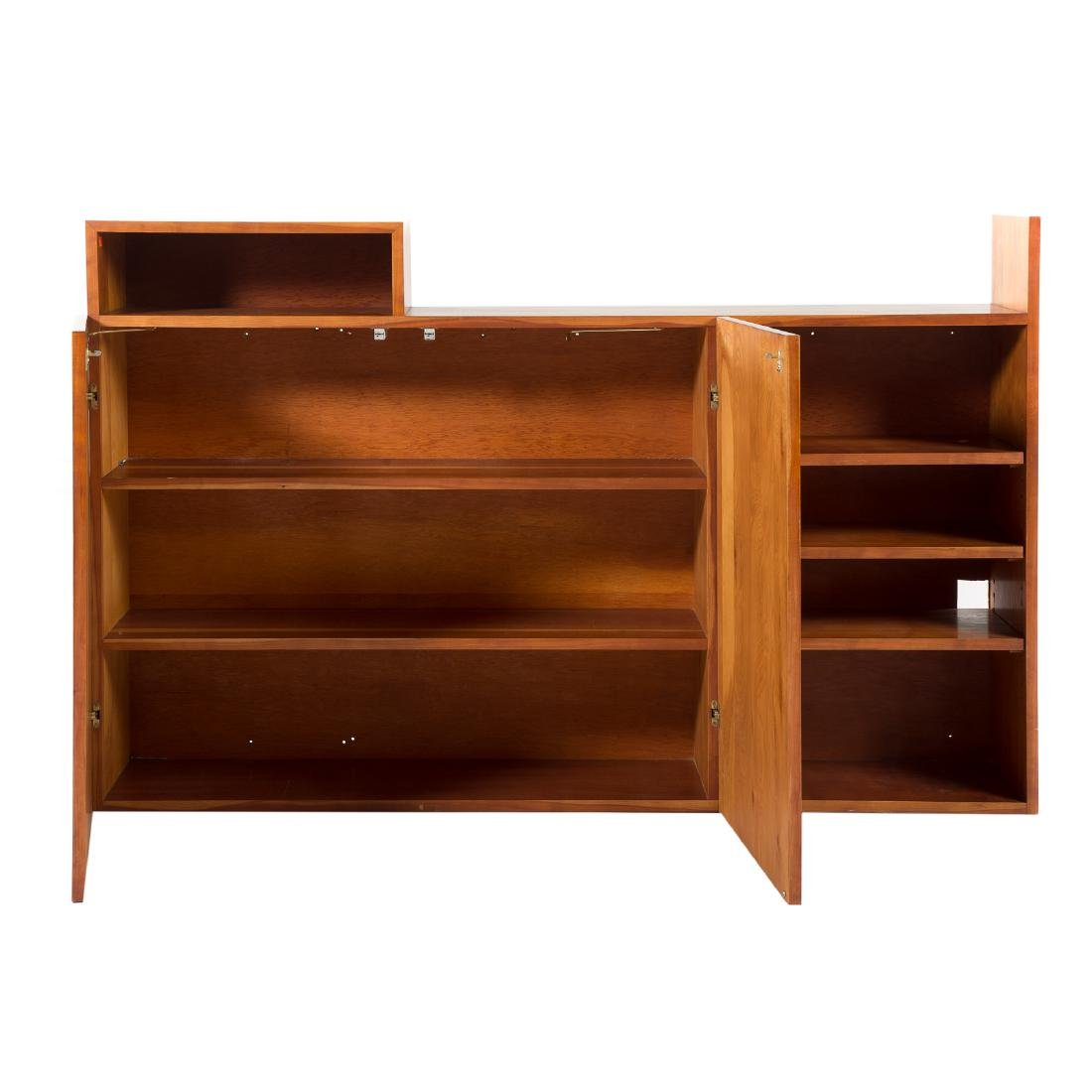 Attributed to George Nakashima.  Custom Wall Cabinet - 3