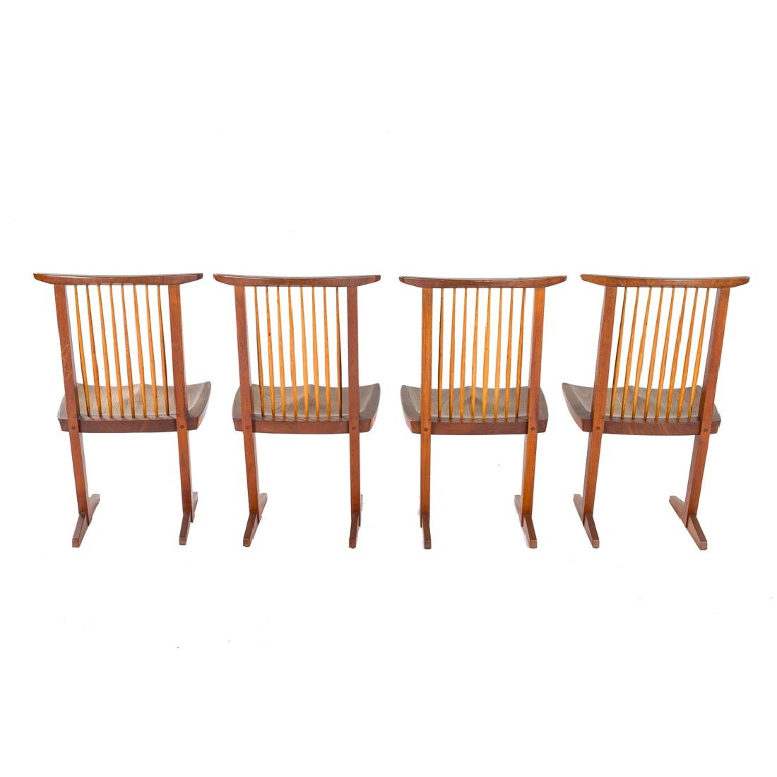 Set of Four George Nakashima Conoid Chairs - 4