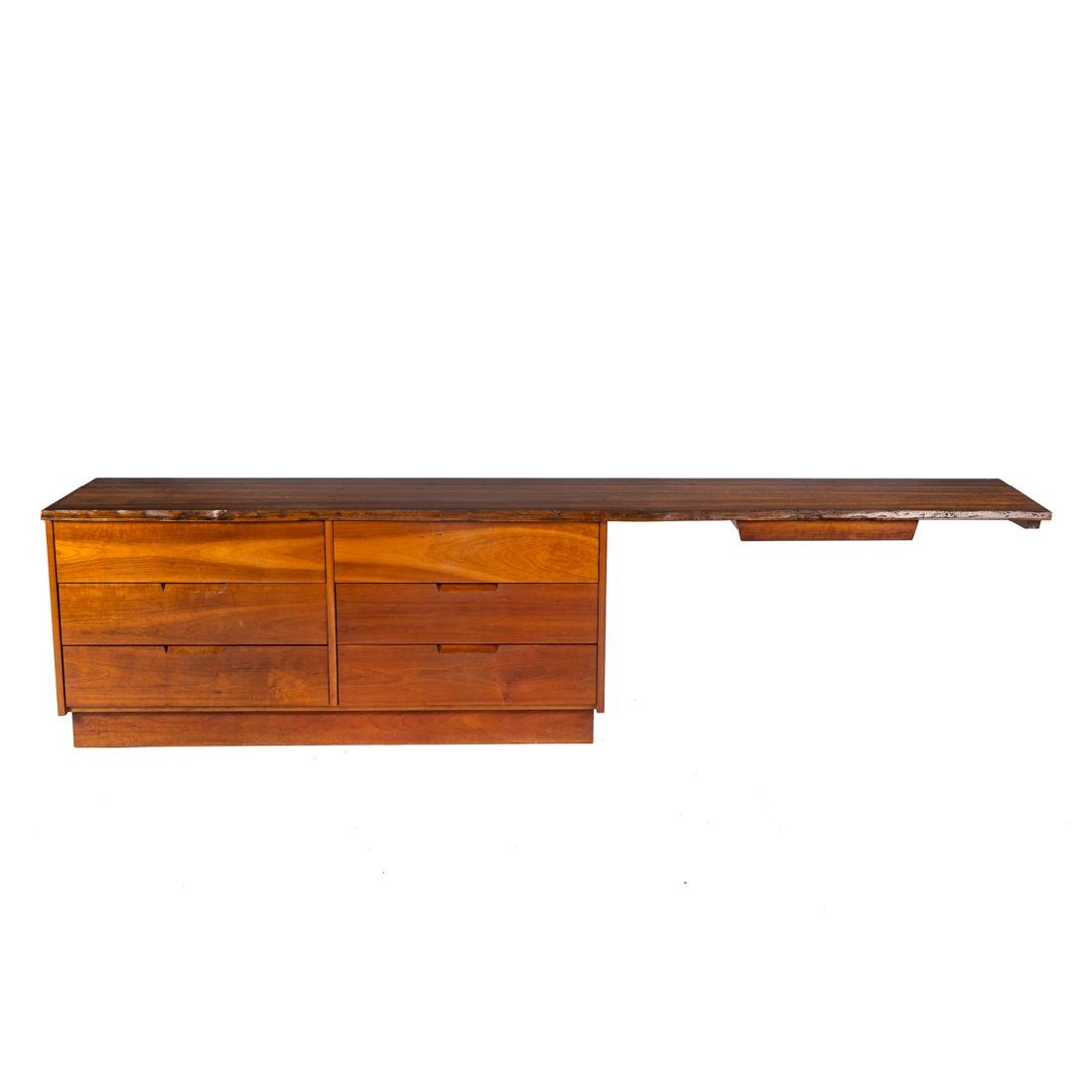 George Nakashima Custom Double Dresser / Desk