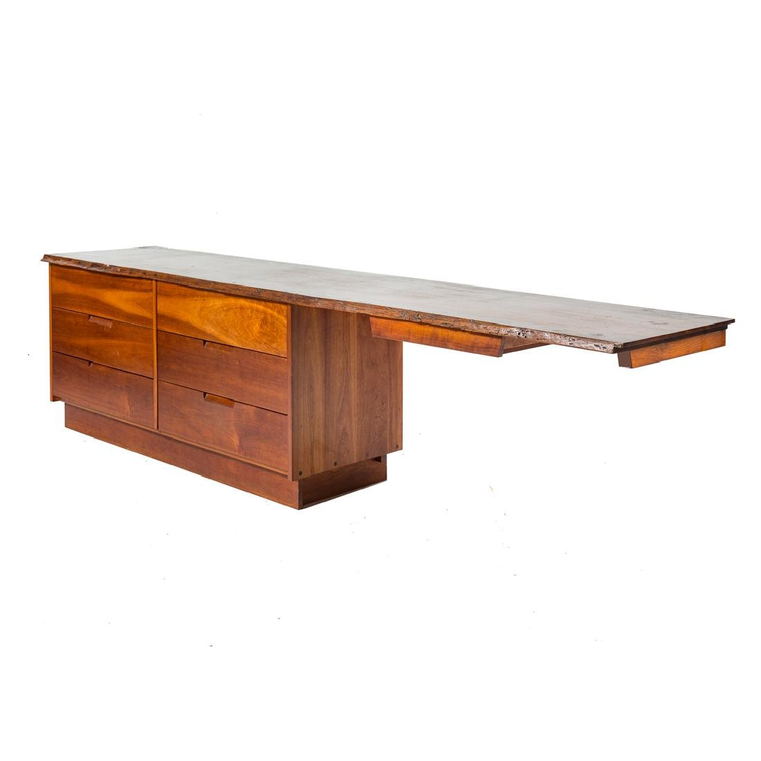 George Nakashima Custom Double Dresser / Desk - 2