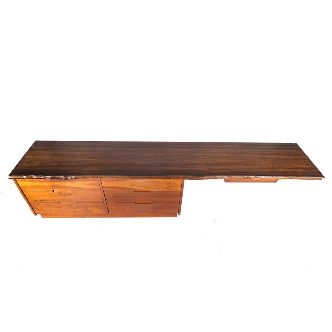 George Nakashima Custom Double Dresser / Desk - 4