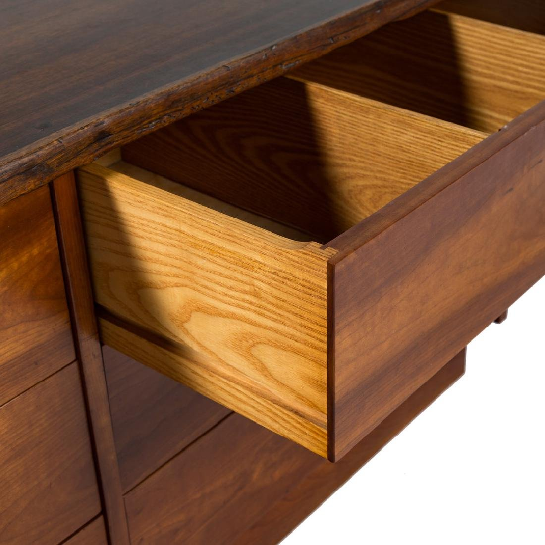 George Nakashima Custom Double Dresser / Desk - 8