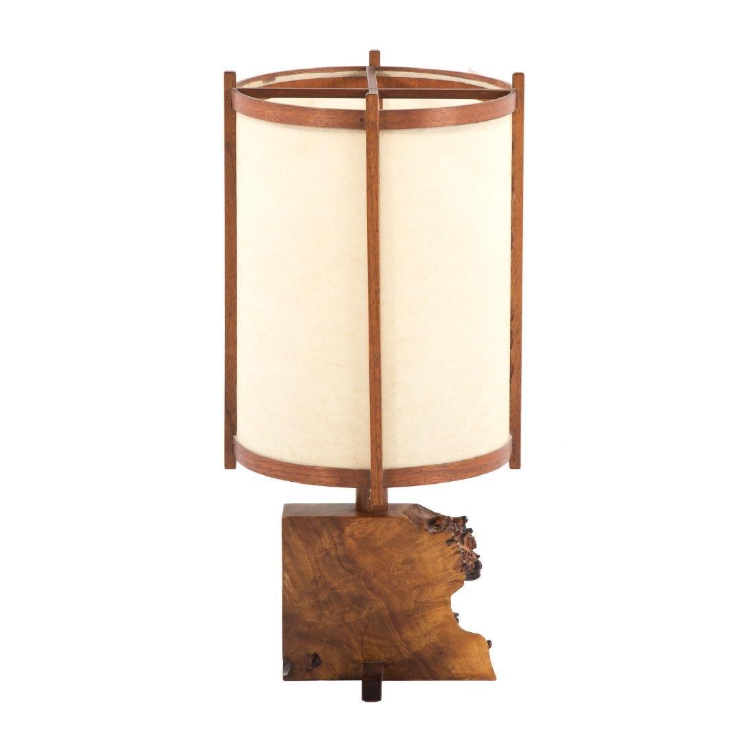 George Nakashima Desk Lamp