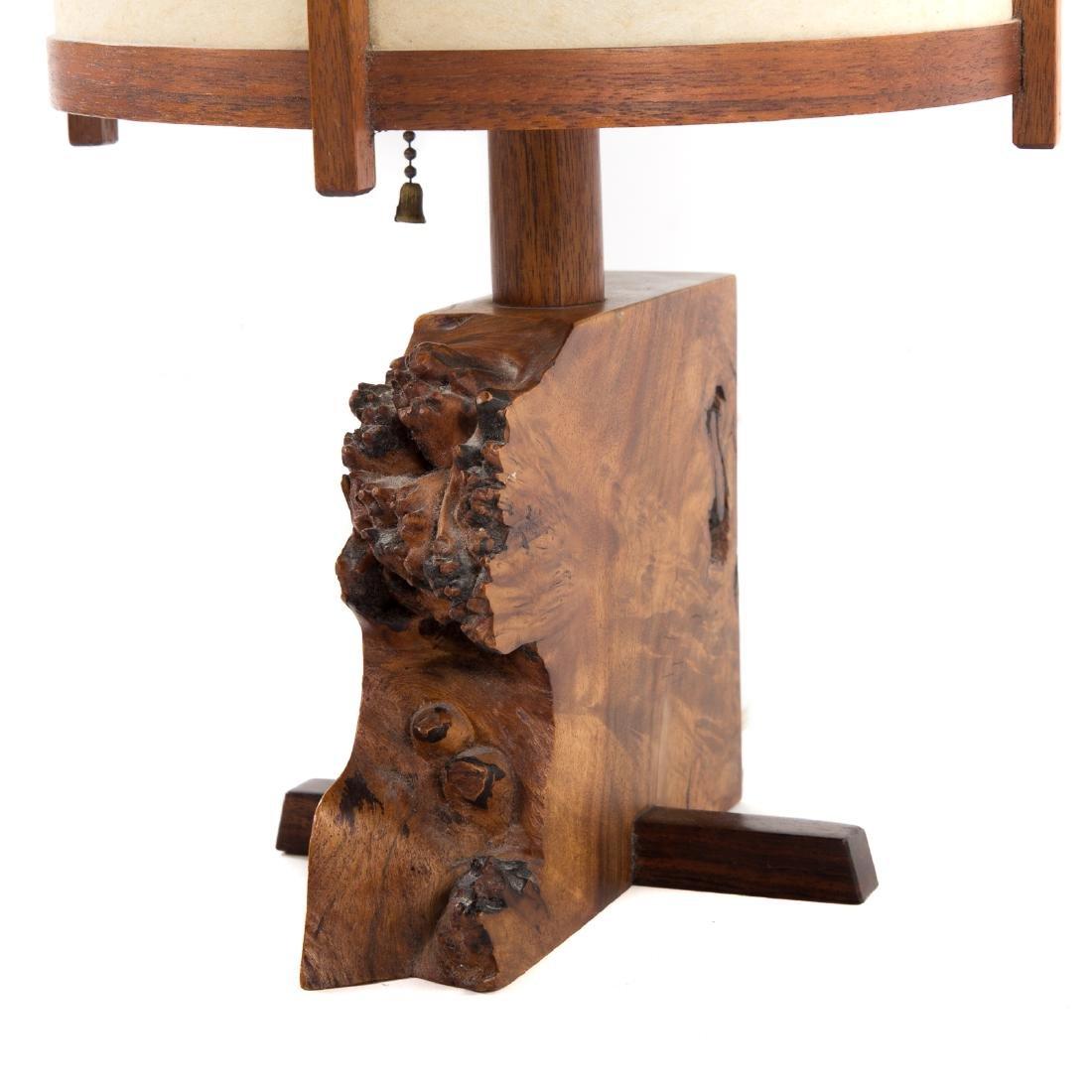 George Nakashima Desk Lamp - 6