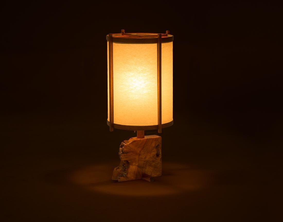 George Nakashima Desk Lamp - 9