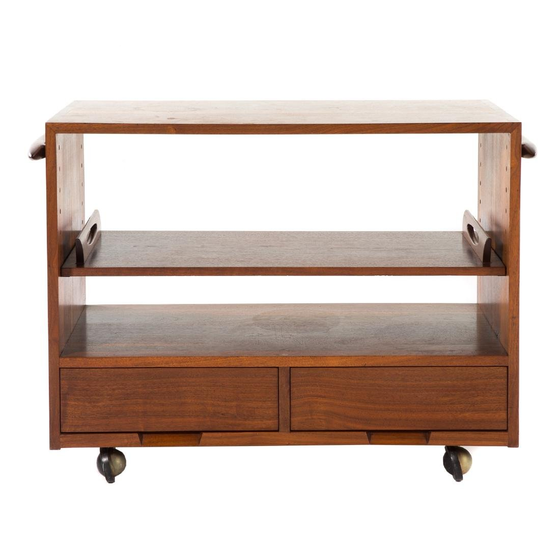 George Nakashima Rare Custom Tea Cart