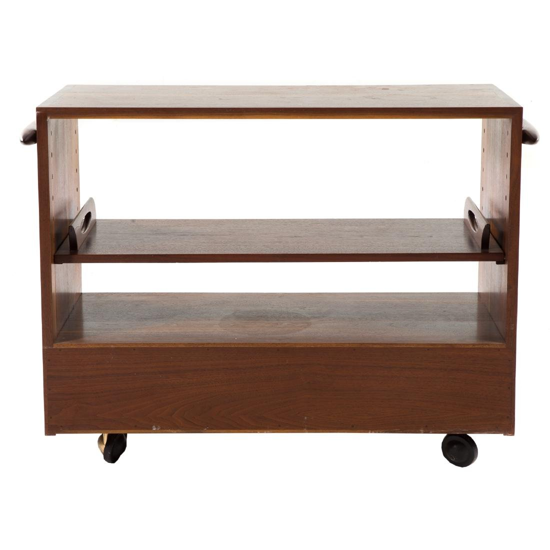George Nakashima Rare Custom Tea Cart - 8