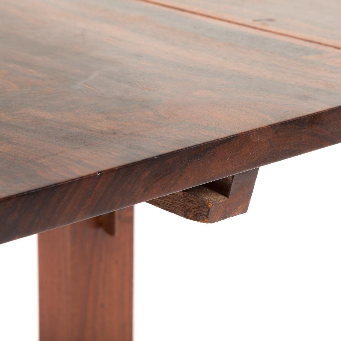 George Nakashima Laurel-top Trestle Dining Table - 9